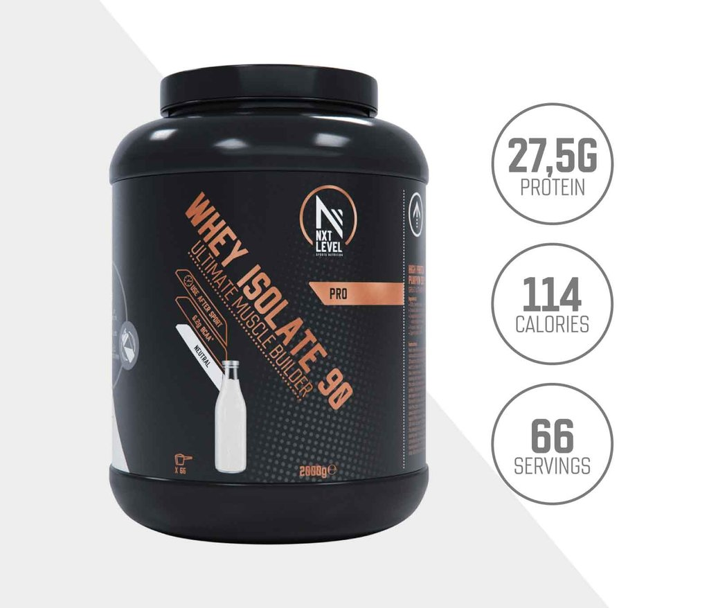 Whey Isolate 90 - Neutre - 2kg