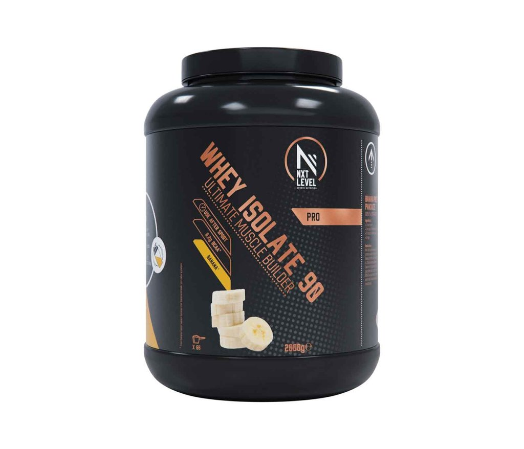 Whey Isolate 90 - Plátano - 2kg