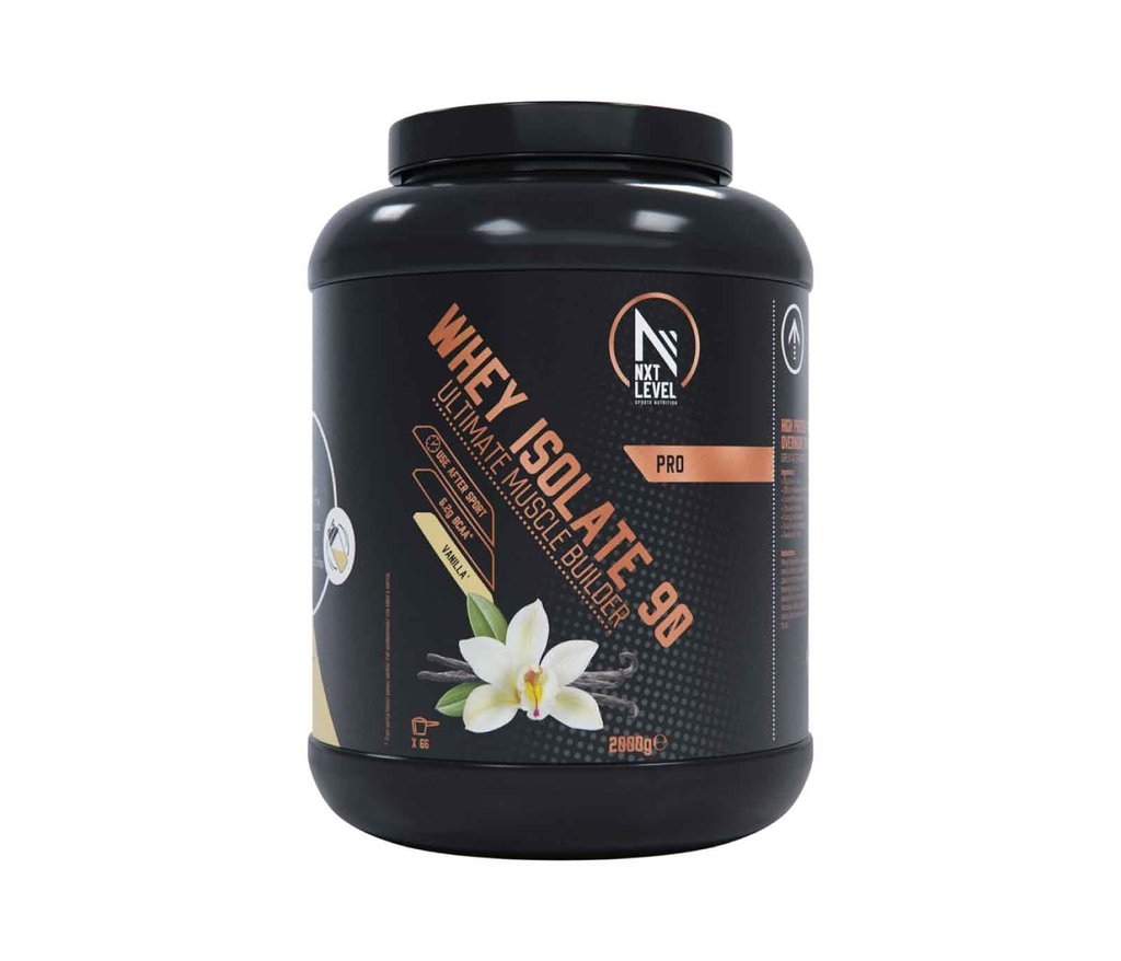 Whey Isolate 90 - Vanille - 2kg