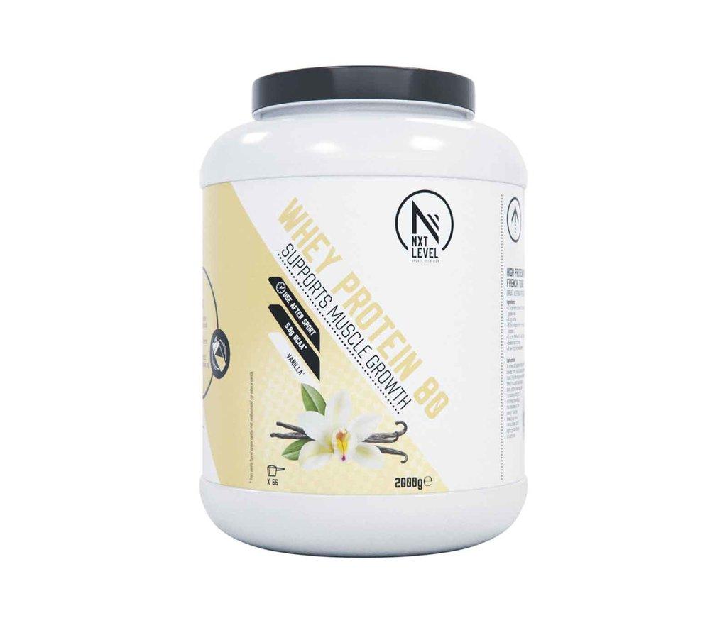 Whey Protein 80 - Vanilla - 2kg