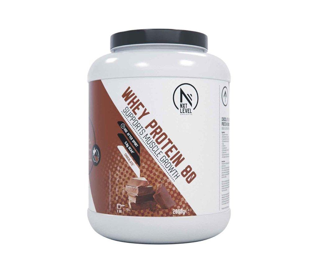 Whey Protein 80 - Chocolade - 2kg