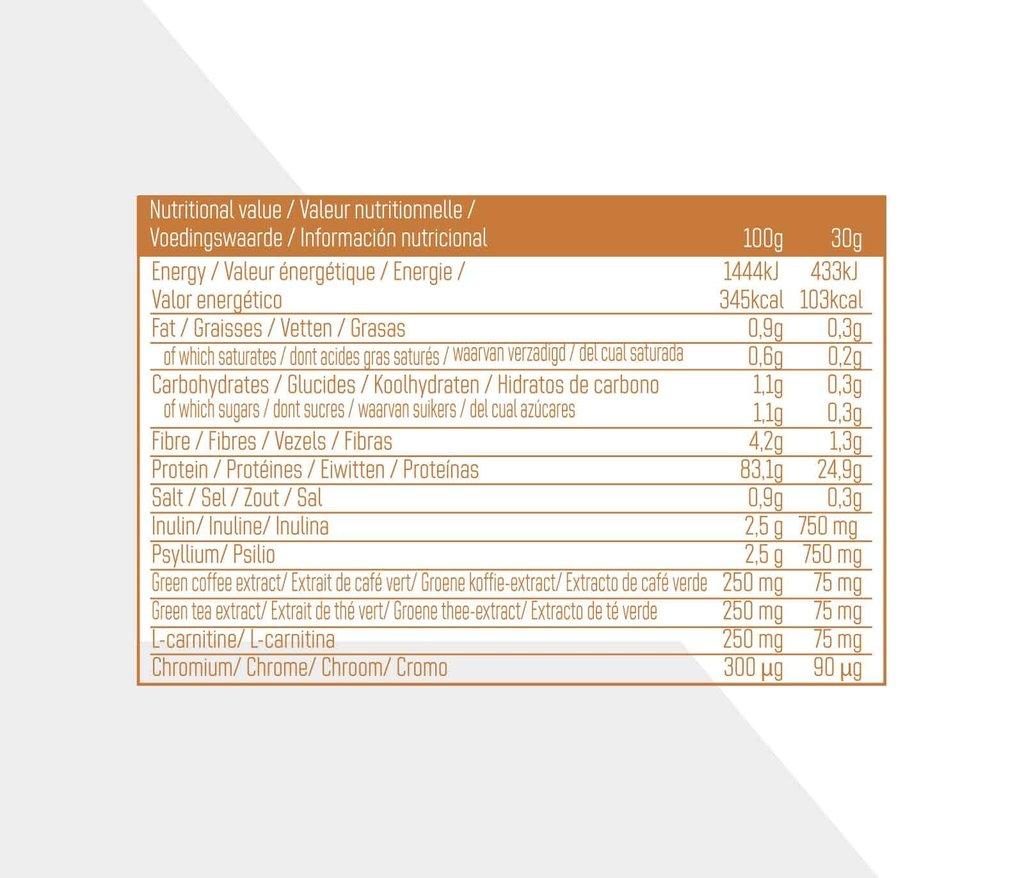 Whey Isolate Body Toner - Karamel zeezout - 750g_
