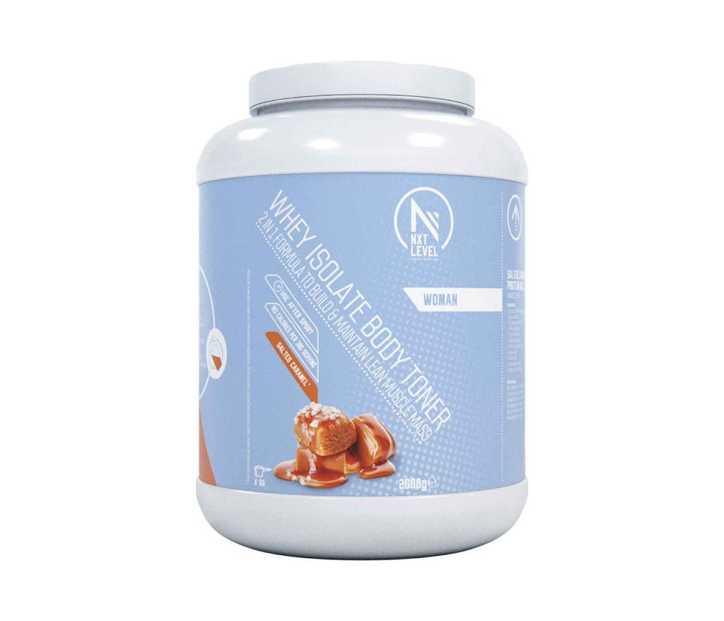 Whey Isolate Body Toner - Caramel Sea Salt - 2kg