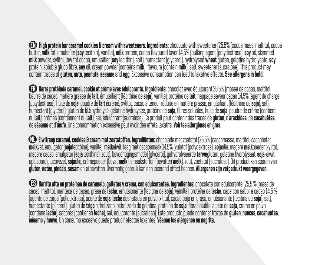 Muscle Builder - Galleta de Caramelo (15 pcs)