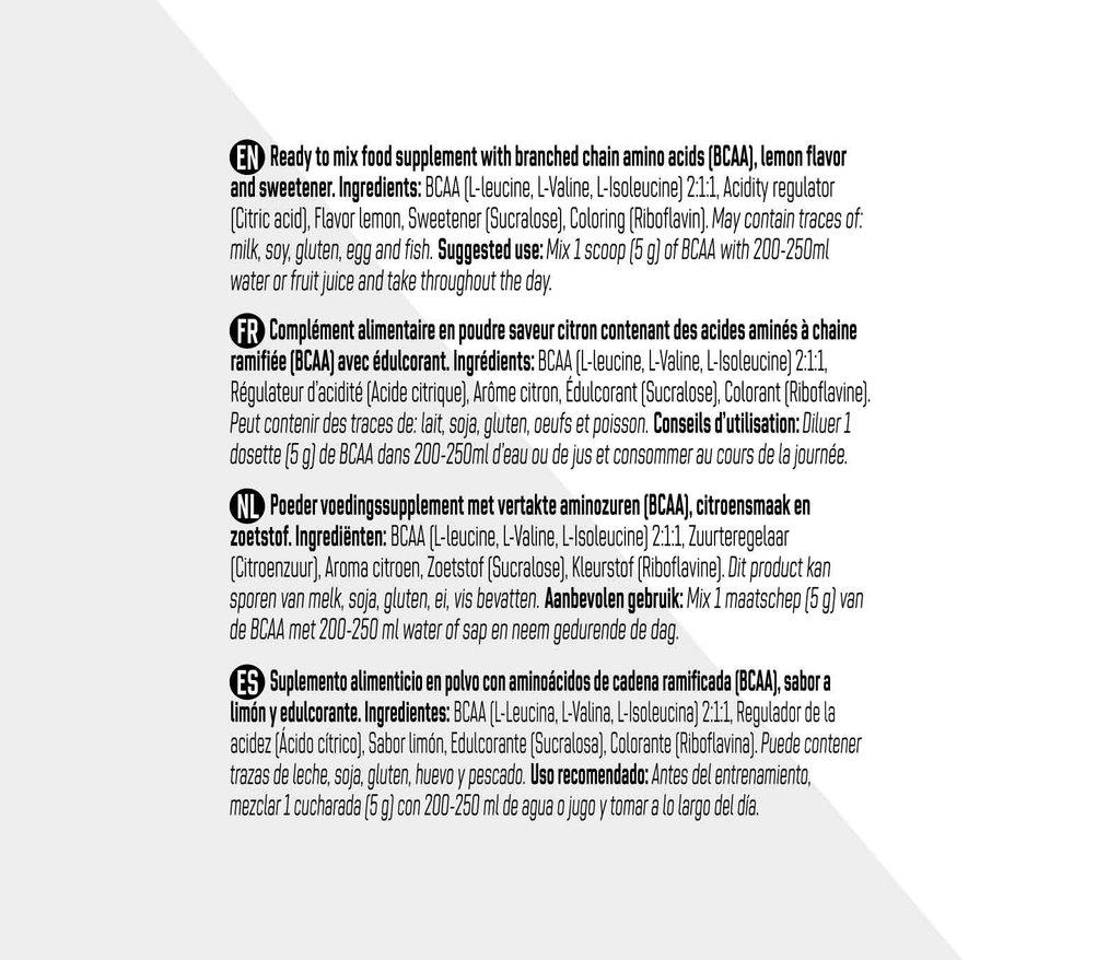 BCAA 2.1.1 - Citron
