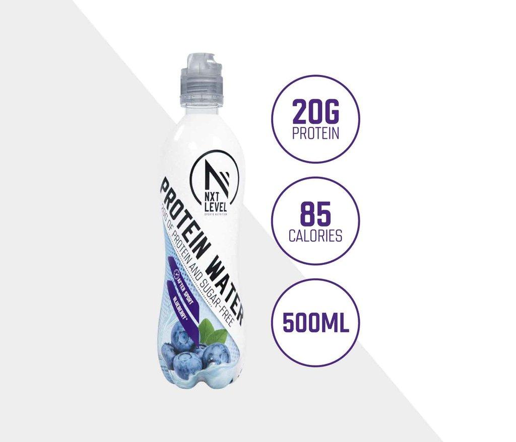 Protein Water - Arándanos (12 pcs)