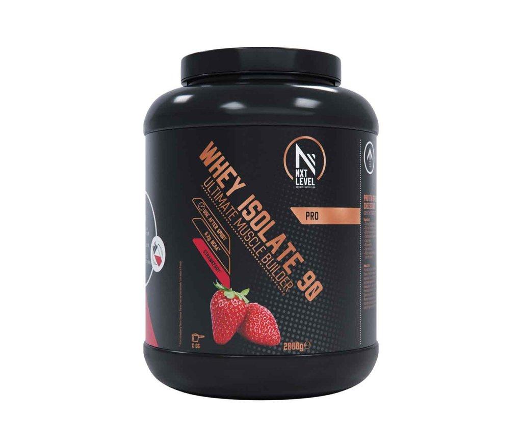 Whey Isolate 90 - Strawberry - 2kg_