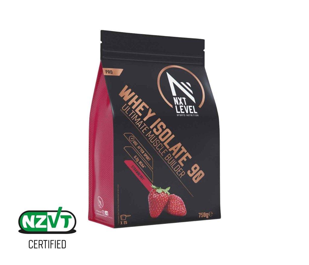 Whey Isolate 90 - Strawberry - 750g_