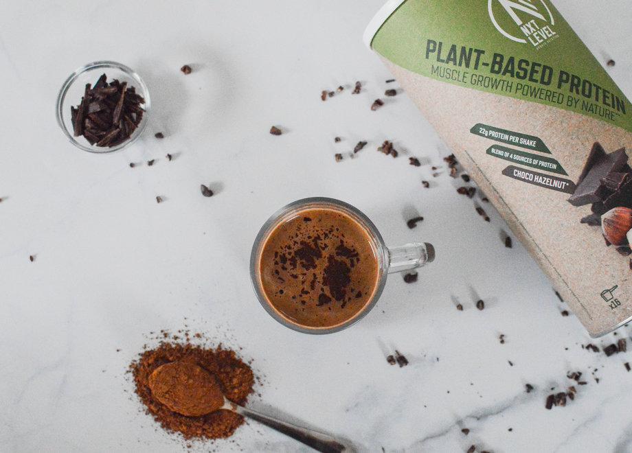 Chocolat chaud protéiné (Vegan)
