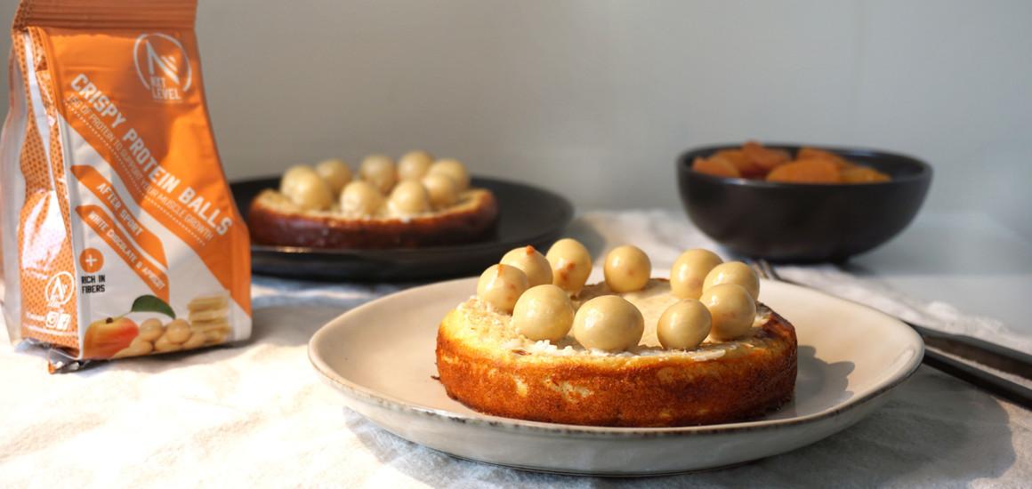 Chocolate Protein Balls Breakfast Blondie