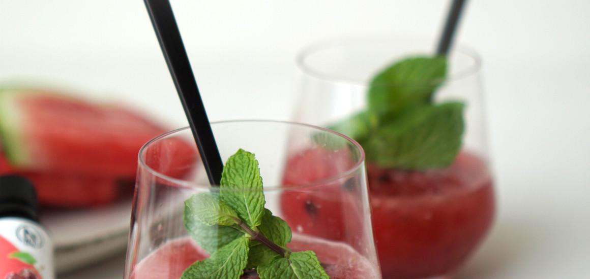 Bevroren Watermeloen Slush