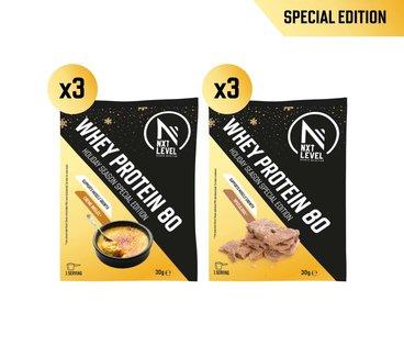 Variety Pack - Whey Protein 80 - Ediciones Especiales (6x30g)