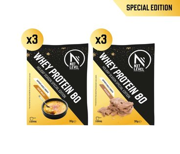 Variety Pack - Whey Protein 80 - Édition Spéciales (6x30g)
