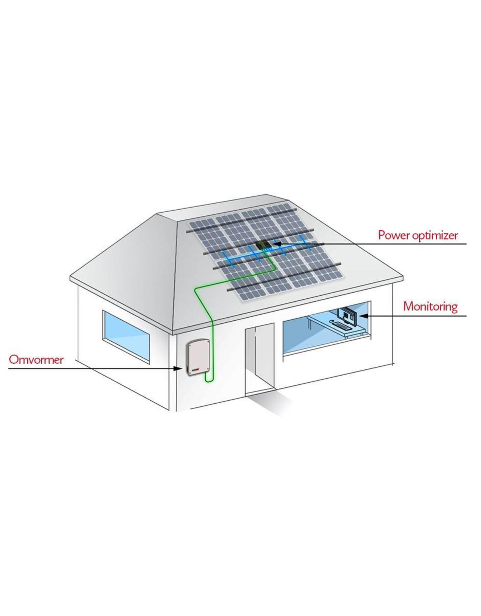 SolarEdge SolarEdge SE1000M enkelfase omvormer 1.0 kW met M2640 optimizer, basic / extended