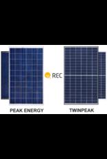 REC REC  275 Wp Peak Energy Polykristallijn zonnepaneel zwart frame
