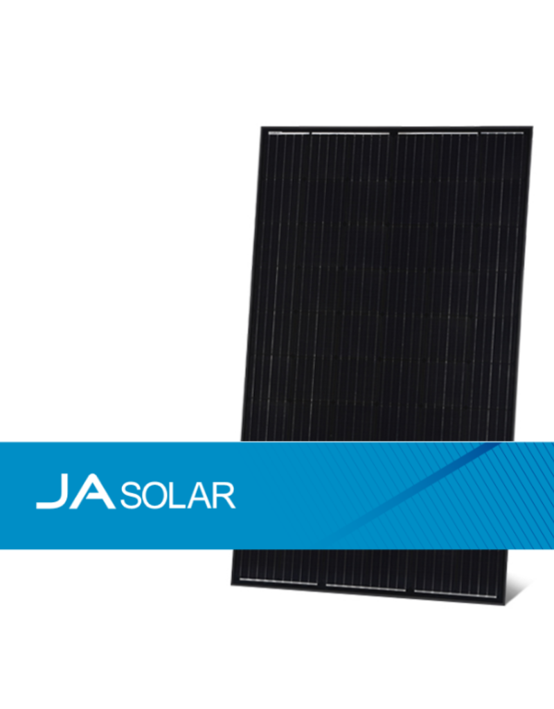 JA Solar JA Solar 300 Wp monokristallijn full black percium zonnepaneel