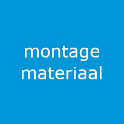 Productinformatie montagemateriaal