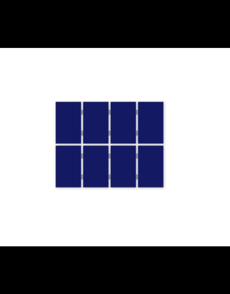 Pakket voor zelfinstallatie Pakket met 8 Jinko Solar monokristallijne Full Black panelen, SolarEdge omvormer en Esdec Clickfit EVO montagematerialen