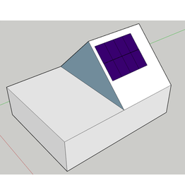 Pakket voor zelfinstallatie Pakket 8 mono panelen