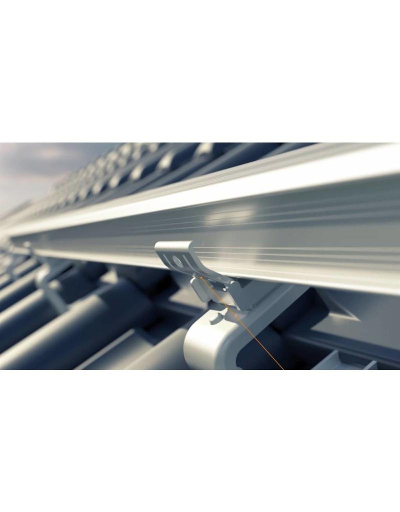 Pakket voor zelfinstallatie Pakket met 9 Jinko Solar monokristallijne Full Black panelen, SolarEdge omvormer en Esdec Clickfit EVO montagematerialen