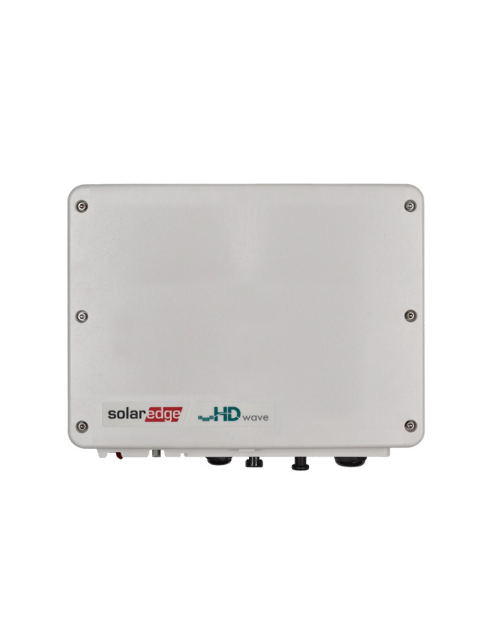 SolarEdge SolarEdge SE3680H enkelfase omvormer 3.68 kW HD-Wave - met SetApp configuratie