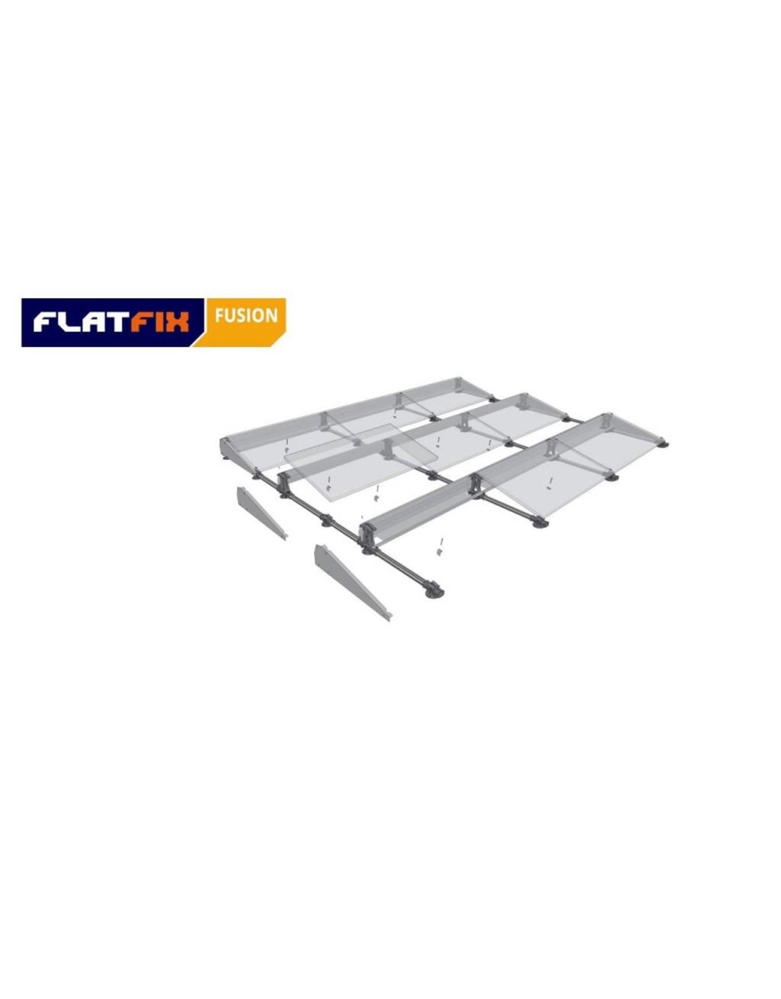 Esdec FlatFix Fusion Esdec Flatfix Fusion montagesysteem plat dak - zilver