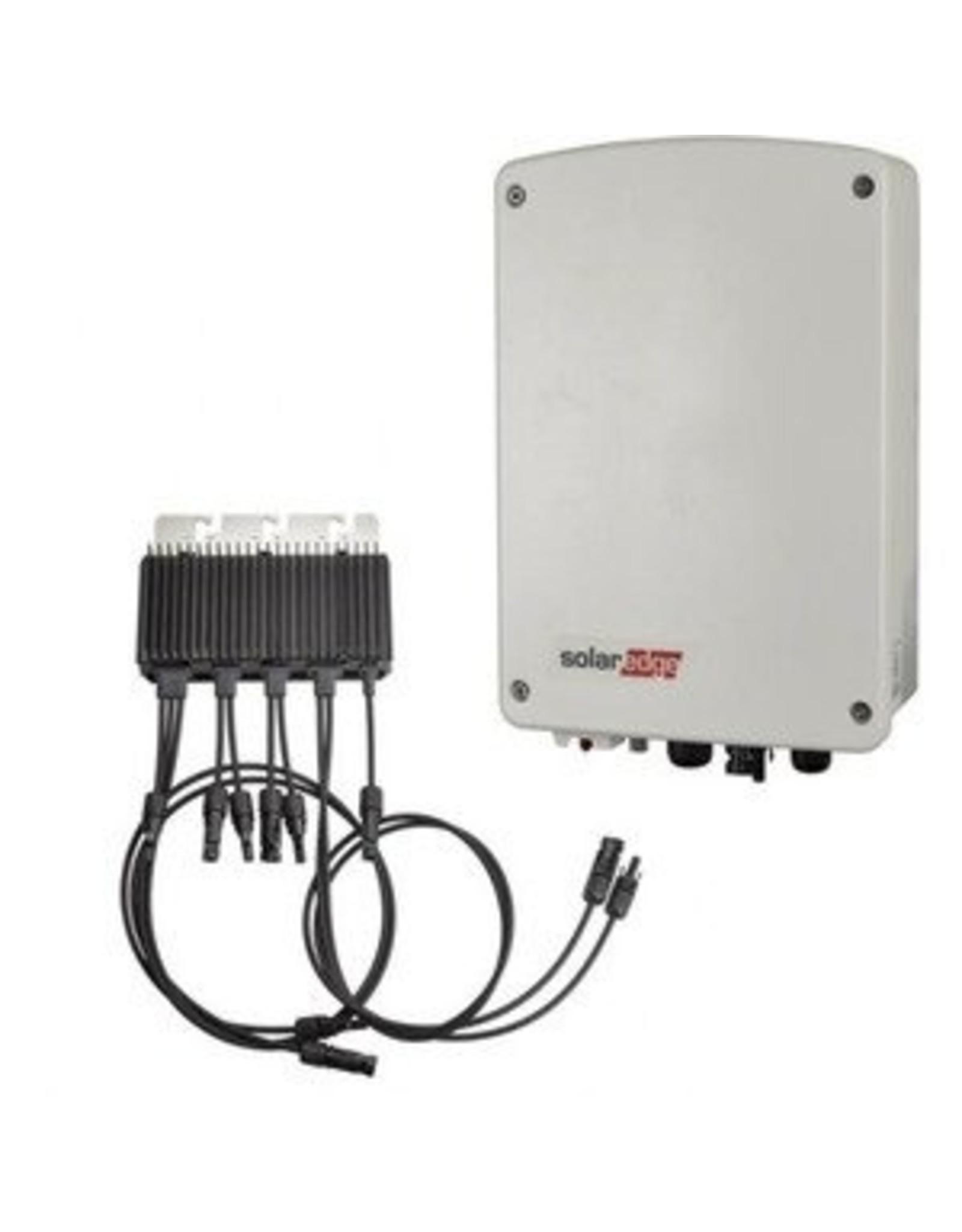 SolarEdge SolarEdge SE1500M enkelfase omvormer 1.5 kW met M2640 optimizer, basic / extended