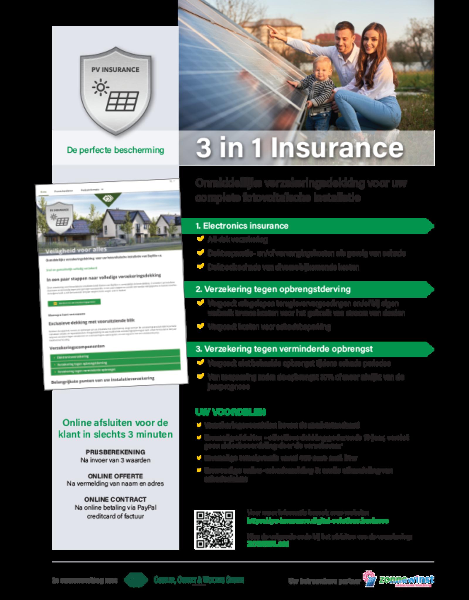 Basler Sachversicherungs-AG 3-in-1 verzekering voor uw complete PV-installatie