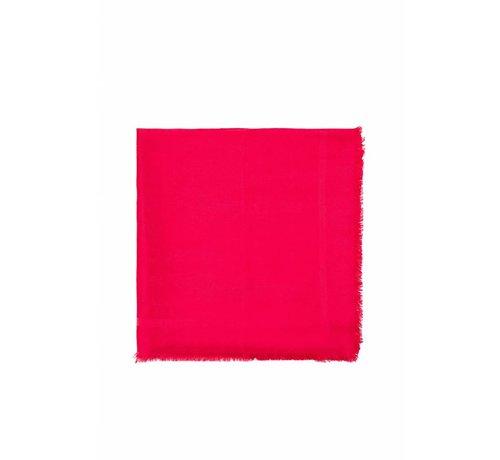 2. ELISABETTA FRANCHI Elisabetta Franchi sjaal met logo Roze