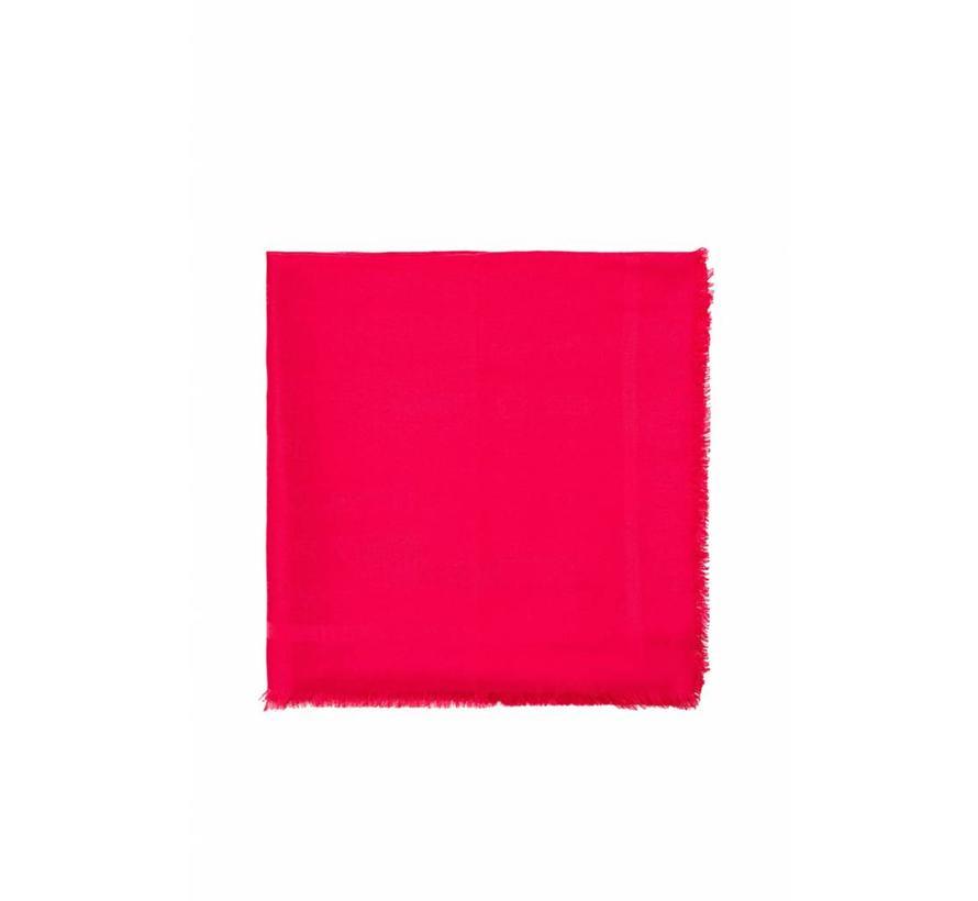 Elisabetta Franchi sjaal met logo Roze