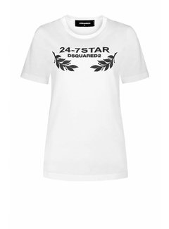 Dsquared2 Dsquared2 t-shirt 24/7 Wit