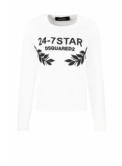 Dsquared2 Dsquared2 anita fit 24-7 star sweater wit