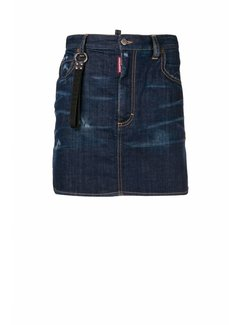 1. DSQUARED2 Dsquared2 denim mini rok Blauw
