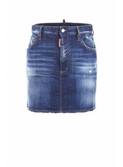 Dsquared2 Dsquared2 jeansrok blauw