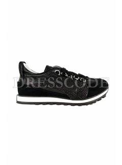 1. DSQUARED2 Dsquared2 sneaker met boog en glitter Zwart