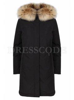 5. WOOLRICH Woolrich luxury boulder coat parka zwart