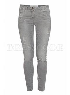 2. ELISABETTA FRANCHI Elisabetta Franchi jeans met vlekjes Grijs
