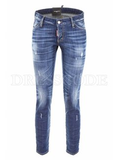 1. DSQUARED2 Dsquared2 Jennifer destroyed jeans blauw