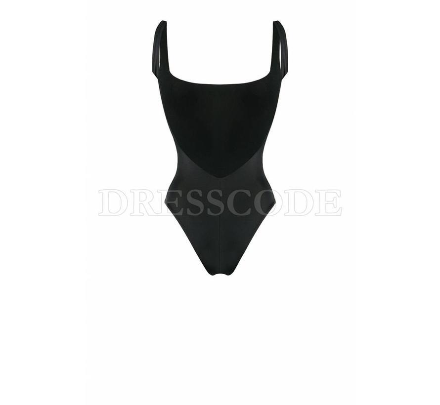 Dsquared2 zwart badpak met icon in wit