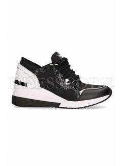 9. MICHAEL KORS Michael Kors sneaker Liv trainer MK logo achterop Zwart