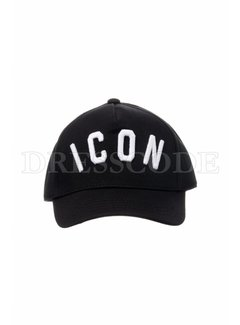1. DSQUARED2 Dsquared2 Icon pet in zwart wit