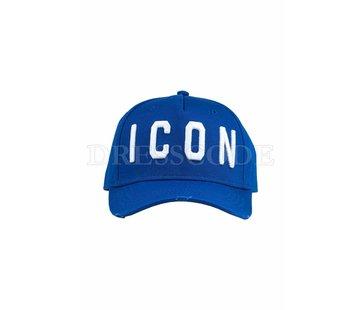 1. DSQUARED2 Dsquared2 baseball cap Icon Blauw