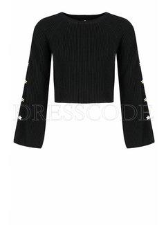 2. ELISABETTA FRANCHI Elisabetta Franchi gebreide sweater Zwart