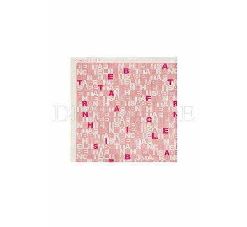 2. ELISABETTA FRANCHI Elisabetta Franchi roze sjaal groot model