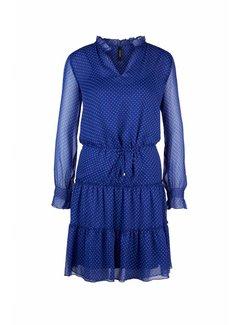 MARC CAIN Marc Cain jurk met koord Blauw