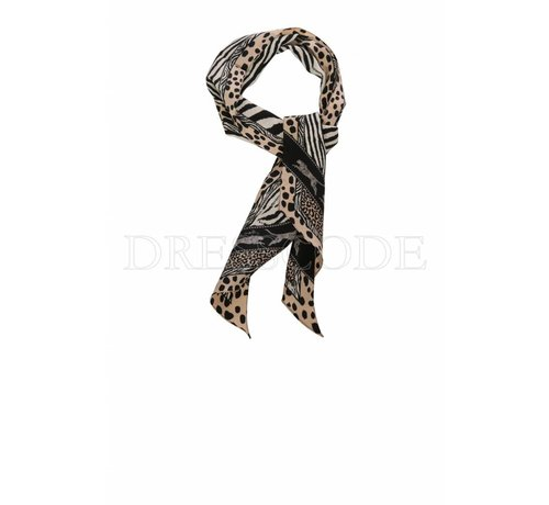 MARC CAIN Marc Cain kleine sjaal in dierenprint