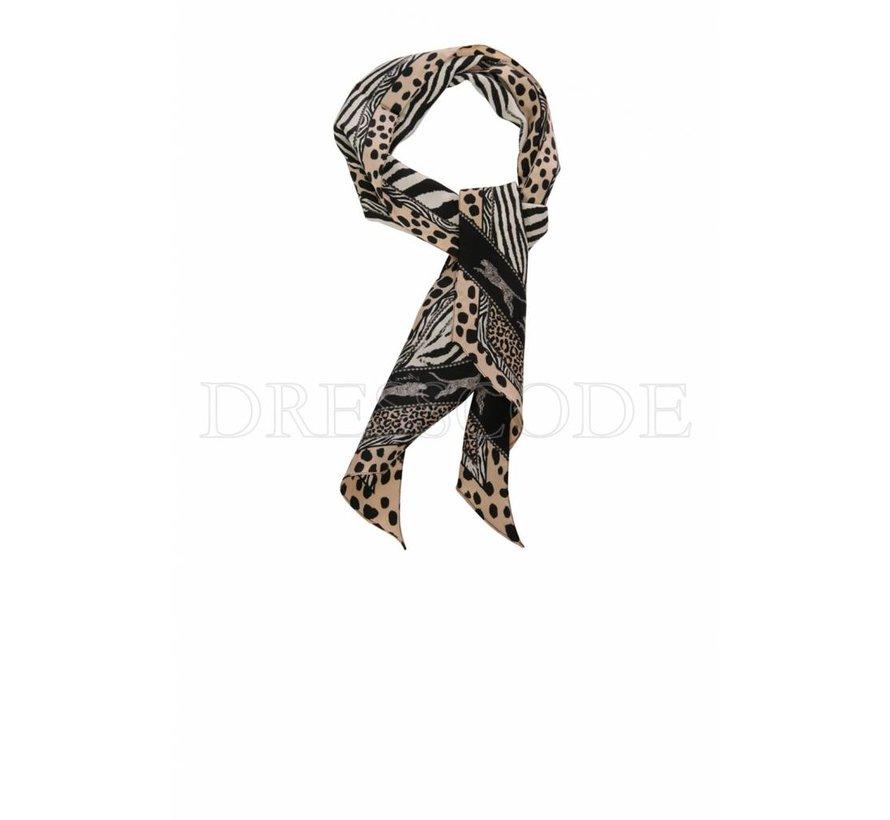 Marc Cain kleine sjaal in dierenprint