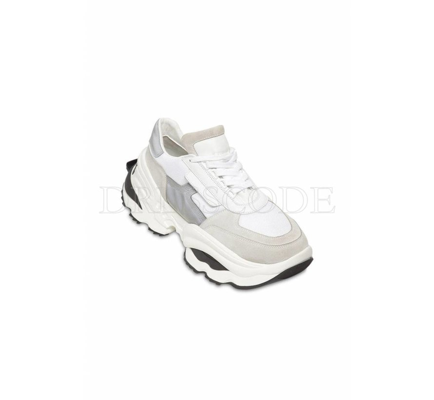Dsquared2 witte sneaker Bionic sport the giant hike