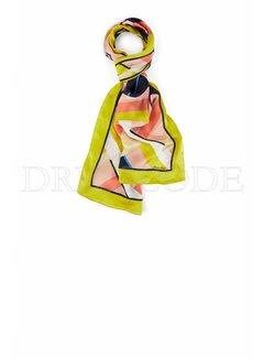 MARC CAIN Marc Cain zijden sjaal lang Multicolor