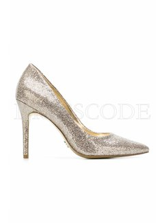 9. MICHAEL KORS Michael Kors Claire pump in glitter Goud